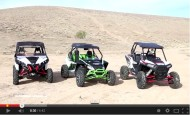 UTV´S: RZR XP 1000 vs Maverick vs Wildcat