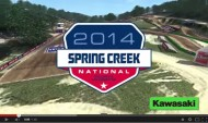 AMA MX 2014: SPRING CREEK VUELTA VIRTUAL