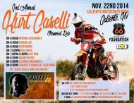 KURT CASELLI: SEGUNDO MEMORIAL RIDE
