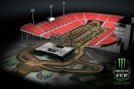 MONSTER ENERGY CUP: EL CIRCUITO