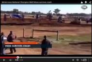MX AUSTRALIANO: EL ACCIDENTE  DE MATTMOSS