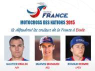 MOTOCROSS DE LAS NACIONES 2015: FRANCIA Y SUEQUIPO