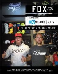 MX NACIONAL:FOX Y DUNLOP SE SUMAN AL MOTOCROSSNACIONAL
